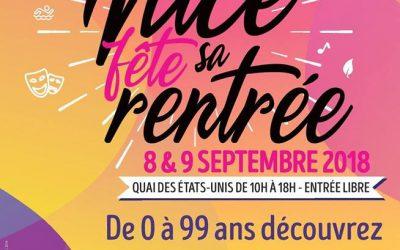 DEBUT SEPTEMBRE 2018 : L'agenda des sorties Séniors à Nice